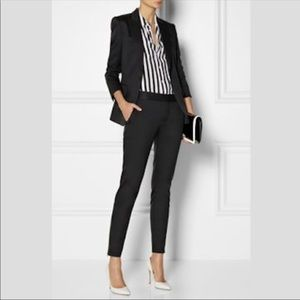 Theory Testra 2B Edition Black Trouser Size 4 L17